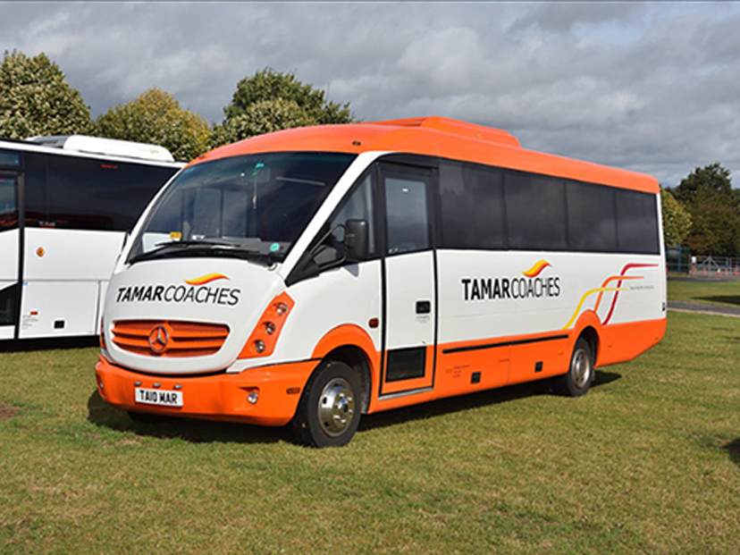 33 Seater Coach at showground