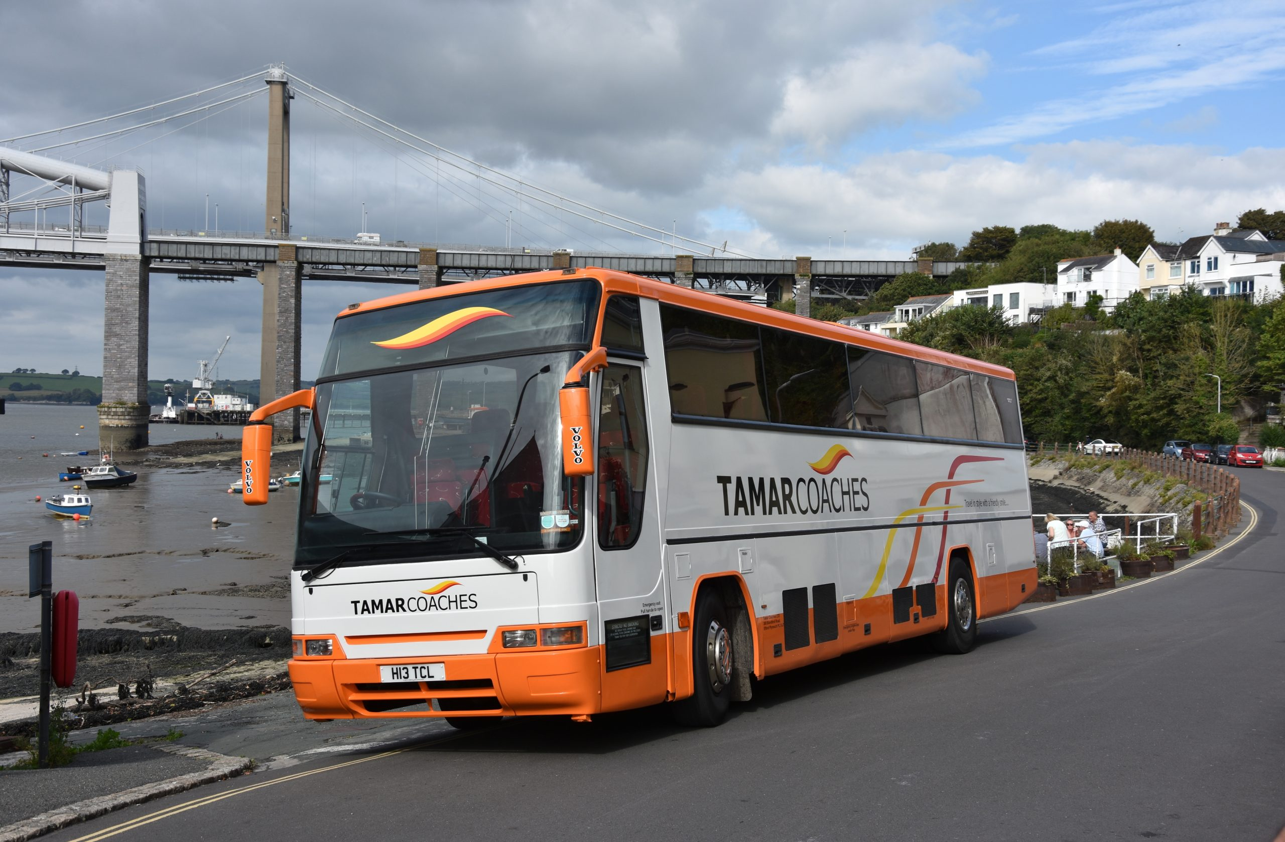 48 Seat Executive Coach at Saltash Passage