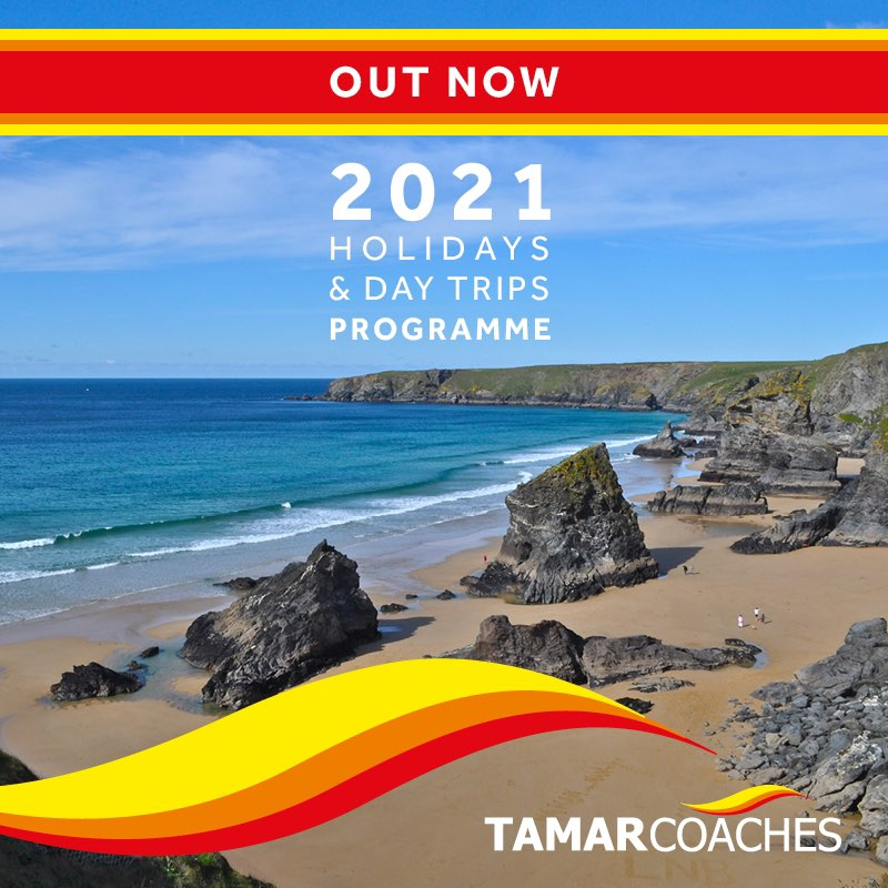 Tamar Coaches - New 2021 Brochure now available!